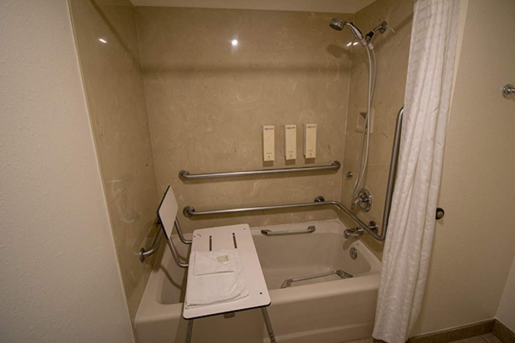 Accessible Bathroom Shower/tub