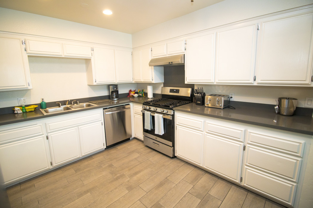 Make yourself at home in our Two Bedroom Kitchen Suite.